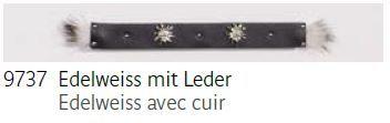 9737 Edelweiss mit Leder - Edelweiss avec cuir