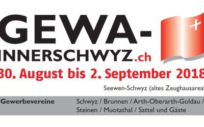 GEWA Schwyz 20. August – 2. September