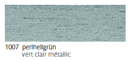 1007 Perlhellgrün - vert clair métallic