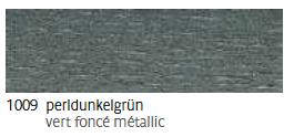 1009 Perldunkelgrün - vert foncé métallic