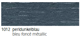 1012 Perldunkelblau - bleu foncé métallic