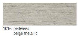 1016 Perlweiss - beige métallic