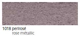 1018 Perlrosé - rose métalic