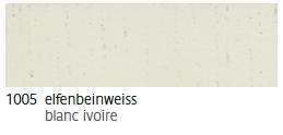 1005 Elfenbeinweiss - blanc-ivoire