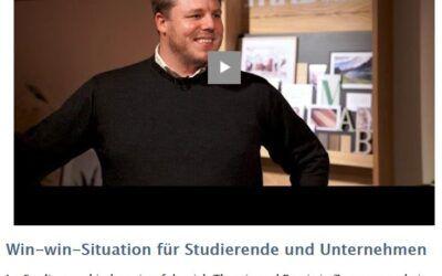 Win-win-Situation für Studierende und Unternehmen