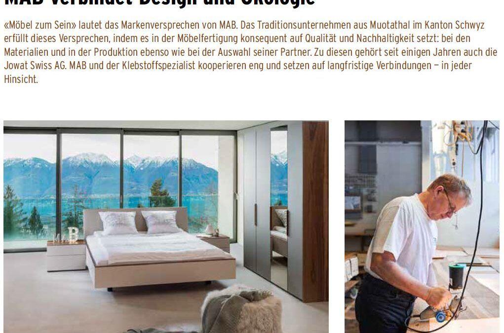 MAB verbindet Design und Ökologie – Beitrag hbs